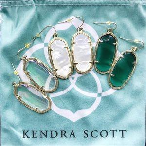 Kendra Scott Elle Earrings (3 Pairs)